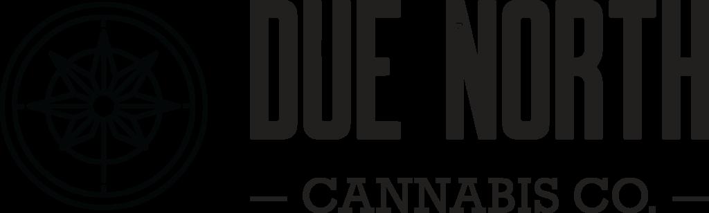 Due North Cannabis Logo Black
